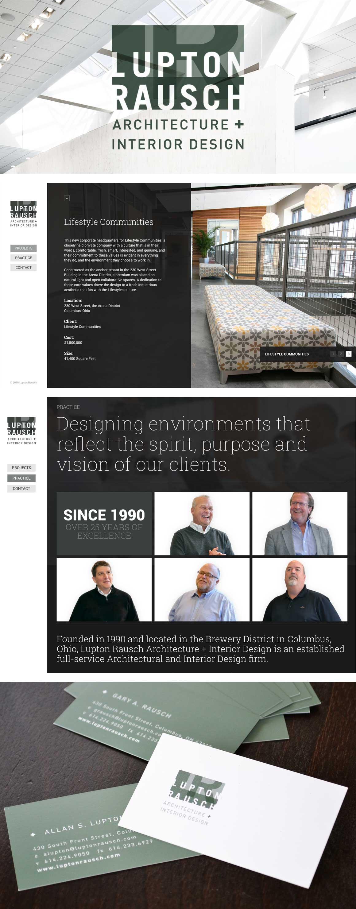 Lupton Rausch Website Design