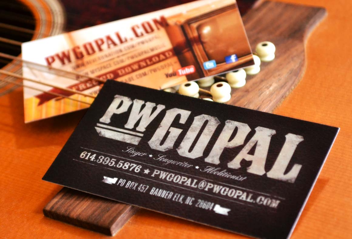 PW Gopal Business Card Design | THROTTLE LTD. | Interactive and ...
